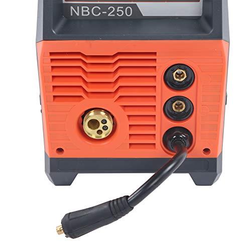 Equipo de soldadura, soldador MIG digital, multifunción NBC-250 para reparaciones de automóviles, mantenimiento del hogar, principiantes