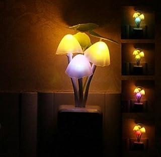 Sungpunet LED Night Light Mushroom Lamp by Baby Bits