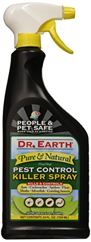 Price comparison product image Dr. Earth 8000 Ready to Use Pest Control Killer Spray,  24-Ounce