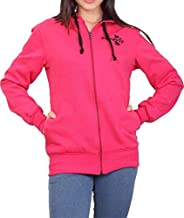ADBUCKS Women's Winter Wear Hood with Zipper Cotton Jacket (Plus Size Also Available)