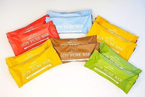 低糖質 ソイピュアバー アソートセット【糖質制限 砂糖不使用 グルテンフリー 低糖質お菓子】 (6種12本アソート)