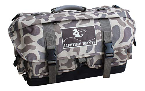 Lifetime Decoys Old School Camo Blind Bag/Backpack