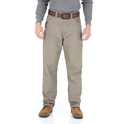 Wrangler Riggs Workwear Men's Technician Ripstop Pant, dark khaki, 42x30
