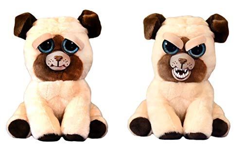 Feisty Pets Pug: Manny Macho