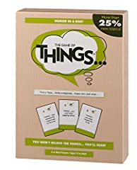 New! 25% new topics for fresh fun, and a cool plastic case! Read a topic and then write down a response…there's no wrong answer! Read the responses aloud and guess who said what's the entire family will enjoy; 300 topic cards, response pad, score pad...