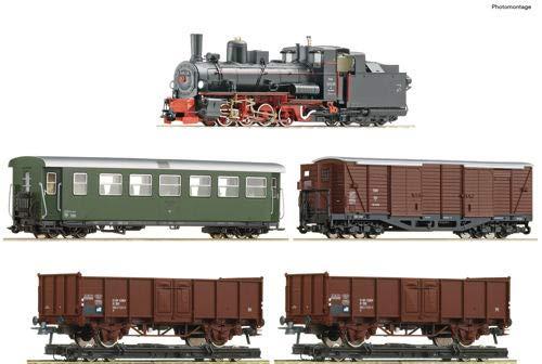 Roco 31032 H0e 5er-Set Güterzug der ÖBB