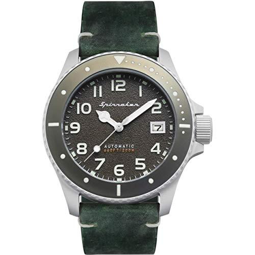 SPINNAKER Spence Reloj de Hombre automático 41.5mm Correa de Cuero SP-5066-03