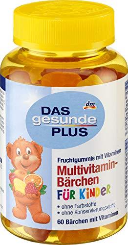 Multivitamins for Children - Fruity Gummy Bears 60 pcs, Mivolis/Germany