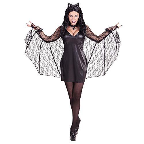 Widmann Widmann-batwoman kostuum dames M Veelkleurig.