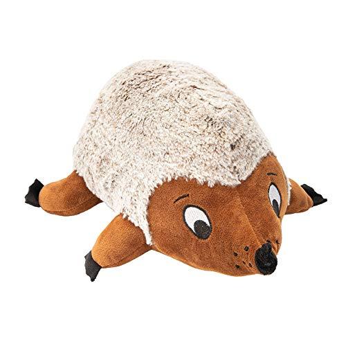 JOYELF Quietschendes Hundespielzeug aus Plüsch, großes Igel-Spielzeug für große Hunde