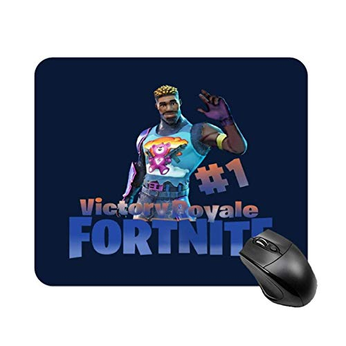 Battle Royale Brite Gunner Epic Skin High-Speed Non-Slip Gaming Table mat, Office Square Rubber Base Mouse pad, Customized Small Desk mat 11.8x9.8 in