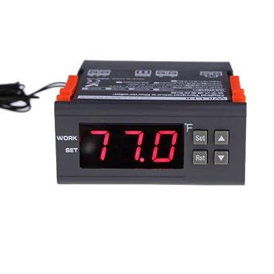Alloet WILLHI Digital Temperature Controller Thermostat Wide Range -30-300 Celsius