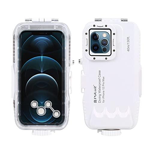 UOGAR PULUZ - Carcasa protectora impermeable para iPhone 12 Pro Max subacuática