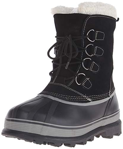Northside Men's Back Country Winter Boot,Black,9 M US