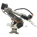 SM SunniMix 6 Achsen Roboterarm Greifer Edelstahl Mechanische Roboter Arm Bausatz mit Servos für Arduino