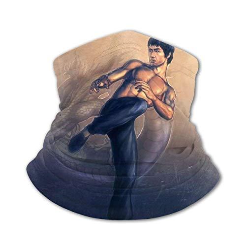 hdyefe Bruce Lee - Toalla de microfibra para la cara, suave, para adolescentes, secado rápido, deportes, senderismo, diadema
