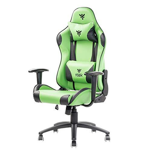 Itek Gaming Chair Playcom Pm20, Verde, Normale