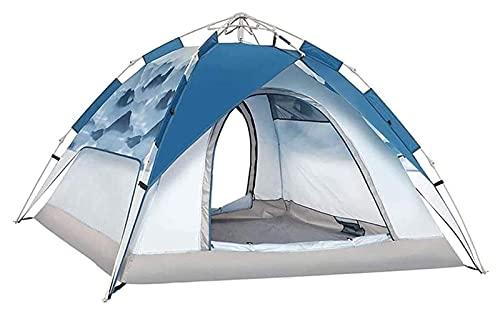 Ankon Tiendas para acampar impermeable al aire libre camping familia tienda fácil de configurar camping portátil al aire libre ligero tienda impermeable a prueba de viento