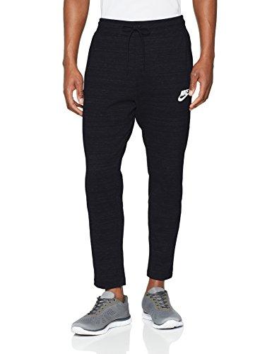 Nike Mens AV15 Knit Jogger Sweatpants Black/Heather/White 885923-010 Size X-Large