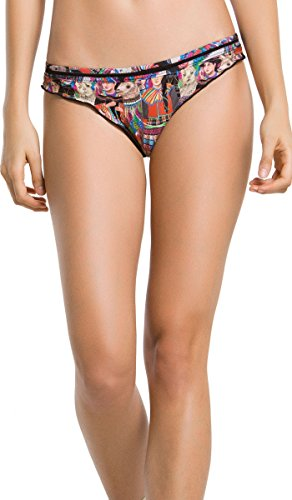 AGUA BENDITA Swimwear Bendito ICA Bikini Bottom Colombian Swimsuit Multi L