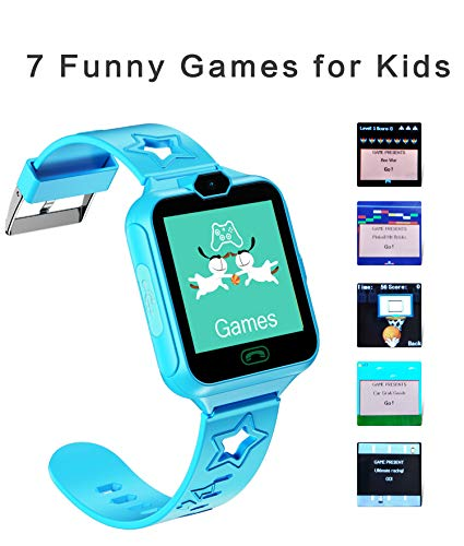 Smart Watch Phone for Kids Two-Way Call with Games as a Gift for Children Boys & Girls 5-14 Years Old
