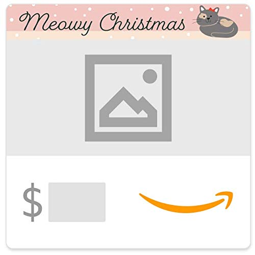 Amazon eGift Card - Your Upload - Meowy Christmas Stockings