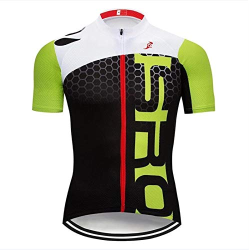 Maillot de ciclismo verde Maillot Culotte Maillot Maillot Camiseta de ciclismo personalizada al por mayor (color: Top jersey, tamaño: XXS)
