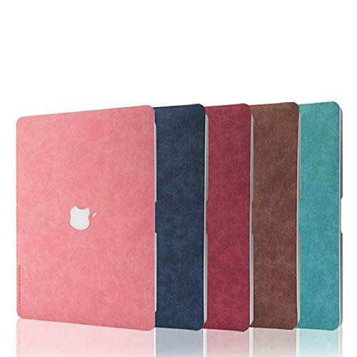 PU Leather Cover Case For Apple MacBook Pro Retina 13.3 Air 13 15 16 11 12 Inch Laptop 2020 New A1932 A2289 A2141 Shell Skin (New Pro 16 A2141,Pink)