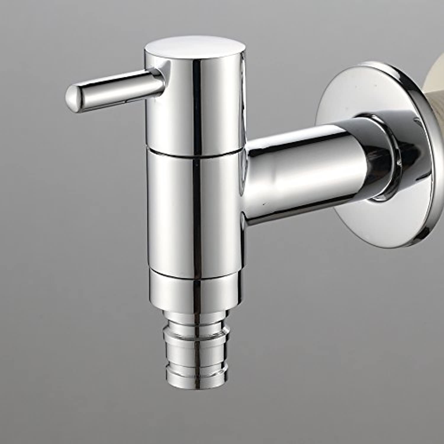 Retro Deluxe Fauceting Brass Washer Bathroom Wash Tap Chrome Plated Washer Free Shipping