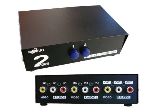 Kalea-Informatique. Umschalter Audio / Video 2 Port manuell bidirektional. AUDIO VIDEO SWITCH …