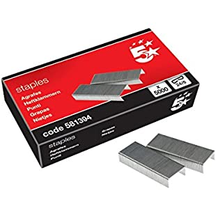 5 Star Staples 24-6 Ref 581394 [Box 5000]:Hotviral