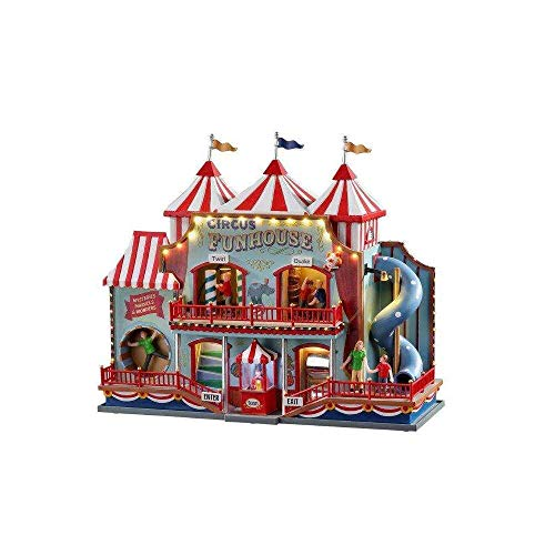 Lemax+05616+Circus+Fun+House+Village+Building%2c+Multicolored