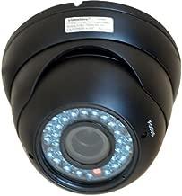 VideoSecu Dome Outdoor CCD Vandal Proof Security Camera Day Night Vision 420TVL 36 IR Infrared Leds 4-9mm Zoom Focus Varifocal for Home CCTV DVR Surveillance System 1Z6