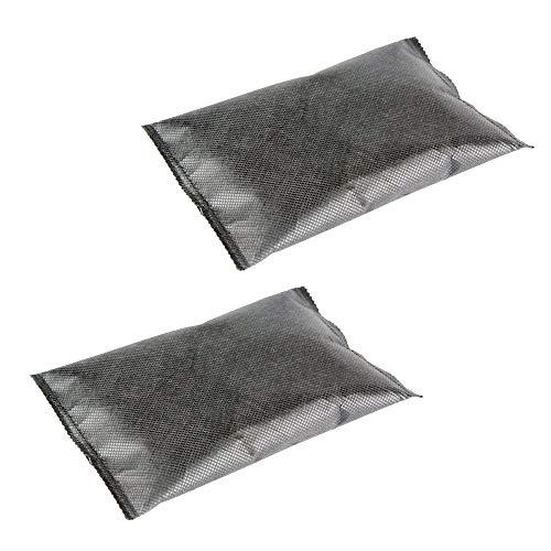 Ganvol Pack de 2 deshumidificadores de Armario Reutilizables, 200g por Bolsa (Total 400 g), removedor de Humedad para Armario, Armario, armarios, armarios y Otros Muebles de Dormitorio