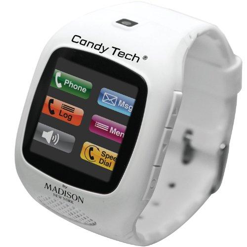 MADISON NEW YORK Unisex Digital Uhr mit Plastik Armband CT-03