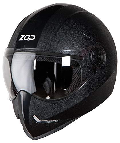 Steelbird SB-50 Adonis Zap Classic Full Face Helmet Stylish Bike Helmet (Large...
