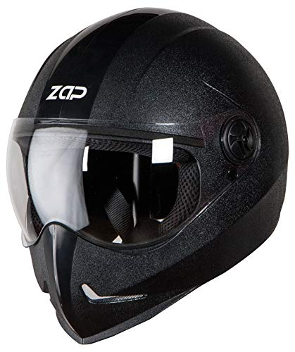 Steelbird SB-50 Adonis Zap Classic Full Face Helmet Stylish Bike Helmet (Large...