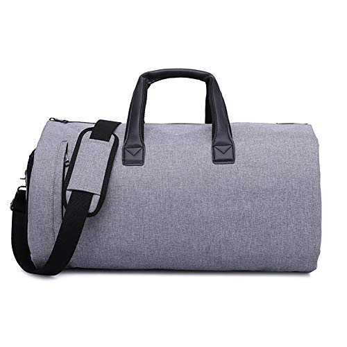 EggshellHome Reistas Carrier Bagage met Schoenen Buidelzak Garment Bag Overnachting Weekend Flight Bag
