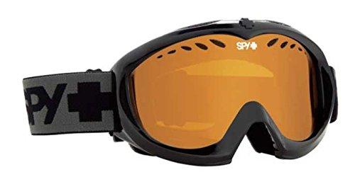Spy Targa Mini Masque de Snowboard Noir Black - Persimmon Taille Unique