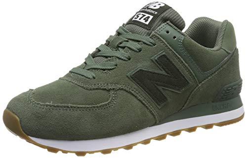 New Balance Herren ML574 D Sneaker, Grün (Green Green), 44 EU