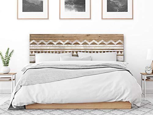 setecientosgramos Cabecero Cama PVC   Marsala   Varias Medidas   Fácil colocación   Decoración Dormitorio (200x60)