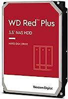 "Western Digital 8TB WD Red Plus NAS Internal Hard Drive HDD - 5400 RPM, SATA 6 Gb/s, CMR, 256 MB Cache, 3.5"" - WD80EFAX"