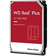 WD Red 8TB NAS 3.5 Inch Internal Hard Drive - 5400 RPM Class, SATA 6 Gb/s, CMR, 256 MB Cache - WD80EFAX