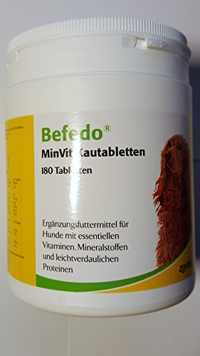 BEFEDO MinVit f.Hunde Kautabl.
