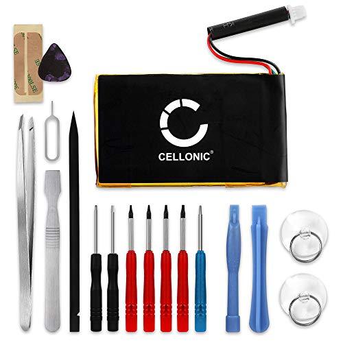 CELLONIC® Qualitäts Akku kompatibel mit Garmin Nüvi 760 Nüvi 760T Nüvi 765 Nüvi 765T Nüvi 700 Nüvi 710 Nüvi 710T Nüvi 3590, 361-00019-40,361-00019-11 1250mAh + Werkzeug-Set Ersatzakku Batterie