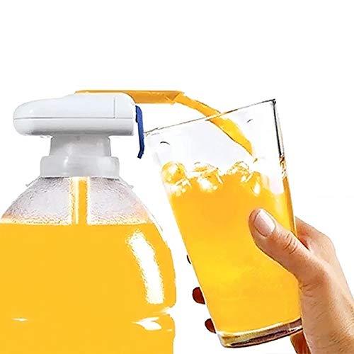 Dispensador de bebidas de grifo mágico, dispensador automático de bebidas de agua, dispensador eléctrico portátil de jugo de leche para la mayoría de jarras para cocina al aire libre