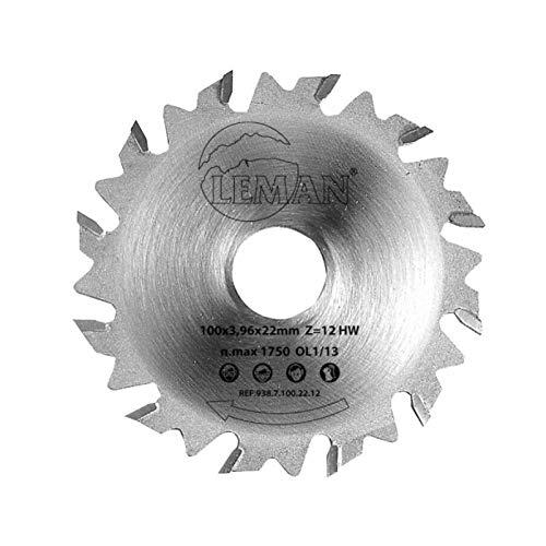 Leman 938.7.100.22.12 – Scie pour ensambles de biscuit (100 mm)
