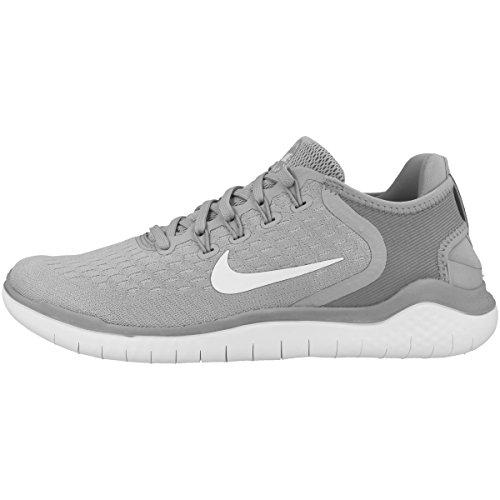 Nike Men's Free Rn 2018 Running Shoe, Wolf Grey/White/Volt, Size 11.0