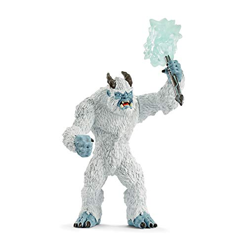 SCHLEICH Eldrador Ice Monster with Weapon Imaginative Figurine for Kids Ages 7-12