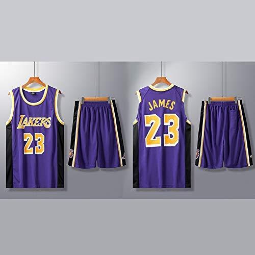 ZEH Traje de Ropa de Baloncesto de los Hombres de la NBA Servicios de Entrenamiento Personalizados con un número  Kobe Bryant Jersey (Color: A21, Tamaño: 4XL) FACAI